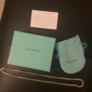 Tiffany and Co. Venetian Link Necklace
